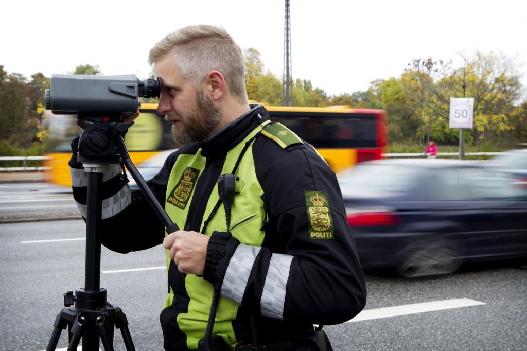 Politiet udfører opmærksomheds- og hastighedskampagne